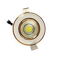5db 5w cob 220-240 meleg fehér LED fény le süllyesztve