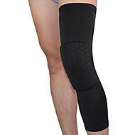 膝用サポーター のために バスケットボール フィットネス バドミントン ランニング ユニセックス 調整可能 高通気性 ビデオ圧縮 伸縮性 プロフェッショナル スポーツ アウトドア ポリエステル