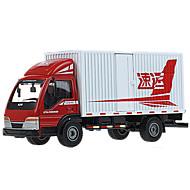Camión Juguetes Juguetes de coches 1:50 Metal ABS Plástico Rojo Modelismo y Construcción