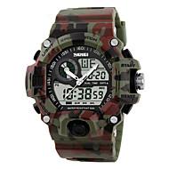 Men's Women's Sport Watch Military Watch Wrist watch Digital WatchLED LCD Calendar Water Resistant / Water Proof Dual Time Zones Alarm