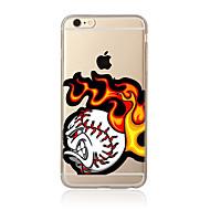 Voor Patroon hoesje Achterkantje hoesje Cartoon Zacht TPU voor AppleiPhone 7 Plus iPhone 7 iPhone 6s Plus/6 Plus iPhone 6s/6 iPhone