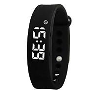 NONE Smart armbånd Lang Standby Brændte kalorier Skridttællere Træningslog Sport Vækkeur Søvnmåler Temperatur Display Påførelig USB