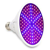 15W E27 LED Büyüyen Işıklar 126 SMD 5730 1200 lm Mavi Kırmızı V 1 parça