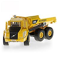 Constructievoertuig Speeltjes Car Toys 1:87 Metaal ABS Kunststof Wit Modelbouw & constructiespeelgoed