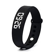 DMDG W55 Slimme armband Slim horloge PolsbandenWaterbestendig Lange stand-by Verbrande calorieën Stappentellers Logboek Oefeningen