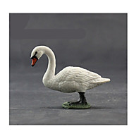 Action Figures & Stuffed Animals Display Model Toys Novelty Swan Plastic White For Boys