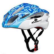 スポーツ 男女兼用 バイク ヘルメット 15 通気孔 サイクリング サイクリング マウンテンサイクリング ロードバイク レクリエーションサイクリング ハイキング 登山 PC EPS イエロー レッド ブルー パープル