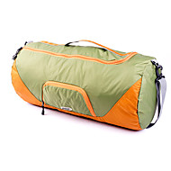 GOX 旅行かばん 小物収納用バッグ のために 男女兼用 小物収納用バッグ ファブリック-ブラック ライトグリーン
