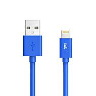 originele mfi gecertificeerde 8-pins kleur mobiele telefoon usb-kabel (lading + sync) voor de iPhone 7 6s 6 plus se 5s 5c 5