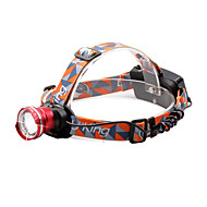 U'King®  ZQ-X830R CREE XML-T6 LED 2000LM Zoomable 180 Rotate 3Modes Headlamp Bike Light with Rear Safety LED