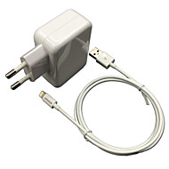 CE certified EU Travel Wall Charger 1A/2.4A Double output + MFi Certified Lightning cable For iPhone 6 iPad iPod