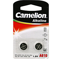 Camelion AG10 Coin Button Cell Alkaline Battery 1.5V 2 Pack