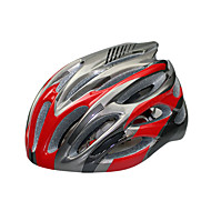 スポーツ 男女兼用 バイク ヘルメット 28 通気孔 サイクリング サイクリング マウンテンサイクリング ロードバイク レクリエーションサイクリング 登山 ハイキング PC EPS ホワイト レッド ブルー