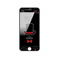 til Apple iPhone 7 4.7 hærdet glas skærmbeskytter med blød kant fuld skærm dækning foran skærmbeskytter tegneserie mønster