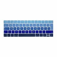 xskn® eurooppalainen espanjalainen kaltevuus silikoninäppäimistö ihon ja touchbar suojelija 2016 uusin MacBook Pro 13,3 / 15,4 Touch bar