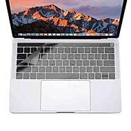xskn® erittäin ohut näppäimistö kattaa MacBook Pro 13 15 kosketusnäytöllä bar (a1706 / a1707) selkeä tpu kannettavan tietokoneen