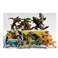 Action Figures & Stuffed Animals Display Model Model & Building Toy Dinosaur Plastic Rainbow