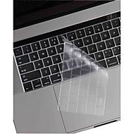xskn® pelle e touchbar protector ultra-sottile e traspa tastiera TPU per il 2016 più nuovo MacBook Pro 13.3 / 15.4 con touch bar retina
