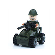 For Gift  Building Blocks Model & Building Toy Warrior Toys