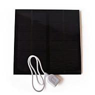 Liangguang solcellepanel batterilader for utendørs 3w USB