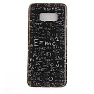 Na IMD Wzór Kılıf Etui na tył Kılıf Napis Miękkie TPU na Samsung S8 S8 Plus S7 edge S7 S6 edge S6