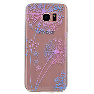 Voor Samsung Galaxy S8 Plus S8 case cover transparant patroon achterblad case paardebloem Soft TPU voor s7 rand s7 s6 rand s6 s5 mini s5