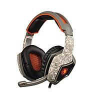 sades SA-918 profesjonalny Gaming Headset Surround Słuchawki stereofoniczne złącze USB z mikrofonem na pc laptop