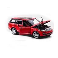 SUV Speeltjes Car Toys 1:24 ABS Zilver Zwart Fade Ivoor Modelbouw & constructiespeelgoed