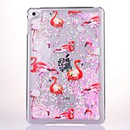 Mert Folyékony Átlátszó Case Hátlap Case Csillámpor Kemény PC mert Apple iPad Mini 4