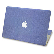 1 kpl Naarmunkestävä yksivärinen Läpinäkyvä muovi Tarrakalvo Kimmeltävä Kuviointi VartenMacBook Pro 15'' with Retina MacBook Pro 15 ''