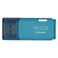東芝16GB USB 2.0フラッシュドライブミニ超コンパクトuhybs-016g-lb