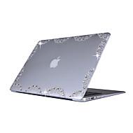 για τον αέρα macbook 11.6 13.3 pro κάλυμμα 13.3 περίπτωση με στρας μοτίβο pc σκληρό ματ προστατευτικό κέλυφος διαφανές