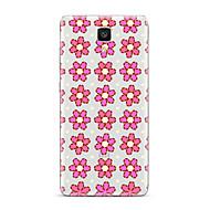 For Transparent Mønster Etui Bagcover Etui Blomst Blødt TPU for XiaomiXiaomi Mi 5 Xiaomi Mi 4 Xiaomi Mi 5s Xiaomi Mi 5s Plus Xiaomi Mi 3