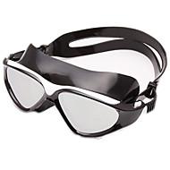 Svømmebriller Anti-Tåke Anti-Slitasje Vanntett Justerbar Størrelse Anti-UV Ripe-motstandsdyktig Bruddsikker Anti-Skli Stropp BeleggSilika