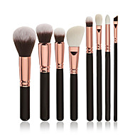8pcs Contour Brush Makeup Brush Set Blush Brush Eyeshadow Brush Concealer Brush Powder Brush Foundation Brush Synthetic HairProfessional
