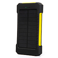 SUNWALK 10000mAh Shockproof Waterproof Portable Solar Charger Power Bank Backup External Battery for Mobile Phone