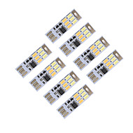 brelong調光usb 3w 6x5730夜ライトタッチスイッチタッチデュアルライトカラー(dc5v)8pcs