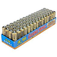 Guangming aa Zink trockenen Zellen Akku 1,5V 60 Packung