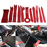 ziqiao 11pcs / set自動車カーラジオパネルドアクリップパネルトリムダッシュオーディオ取り外しインストーラポリー修理ツールセットポータブル実用的なツール