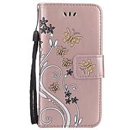Til samsung galaxy a3 2017 a5 2017 kortholder lommebok med stativ flip præget taske fuld krop kasse blomst hard pu læder til a7 2017 a510