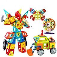 Klocki Zabawka edukacyjna Bloki magnetyczne na prezent Klocki Gry i puzzle Okrągły Kwadratowe Trojůhelníkové Poliwęglan2-4 lata 5-7 lat