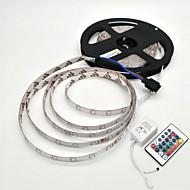 Waterdichte LED-verlichtingsstrip voor buiten, 5 meter lang, met 24-knops afstandsbediening