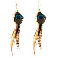 Druppel oorbellen Sieraden Bikini oversteekplaats Punk-stijl Turks Luxe Sieraden Opvallende sieraden Veer Legering Geometrische vorm Wings