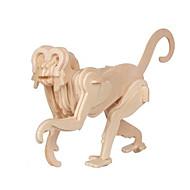 Palapelit 3D palapeli Rakennuspalikoita DIY lelut Apina Puu Rakennuslelu