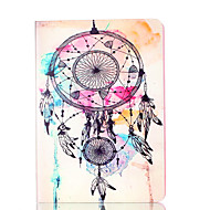 For Apple iPad Mini 4 3 2 1 Case Cover Wind Chimes Pattern Card Stent PU Material Flat Protection Shell