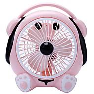 Birou de mici ventilator pentru a transforma paginile ventilator mute 220 V muzică drăguț ventilator de câine desktop