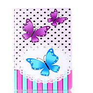 Per la copertura della cassa della copertura di caso di ipad ip 9.7 '' del ipad ipad 5 della stella del modello della farfalla materiale