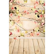 5 * 7ft μεγάλο φόντο φωτογραφία κλασική μόδα ξύλο ξύλινο πάτωμα για στούντιο επαγγελματίας φωτογράφος