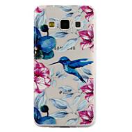 Til Samsung Galaxy A3 A5 (2017) cover til damer kingfisher mønster dråbe lim lak høj kvalitet tpu materiale telefon taske a3 a5