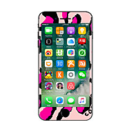 For iPhone 7 Plus Cartoon Color Before And After The Whole Stickers Light in The Dark for iPhone 6 6S Plus SE/5s/5/5 /4/4s